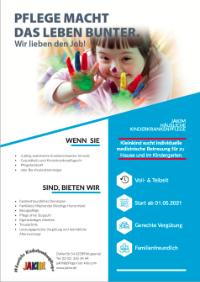Stellenangebot Kindergartenbegleitung Vorachaubild